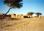 Village in North Sudan